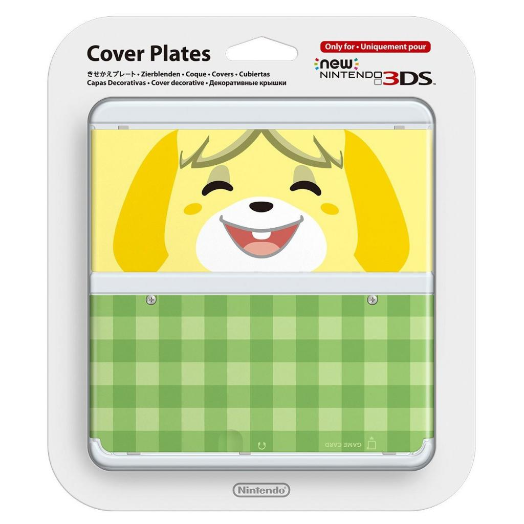 NEW 3DS COVERPLATE - Animal Cossing Isabelle_2