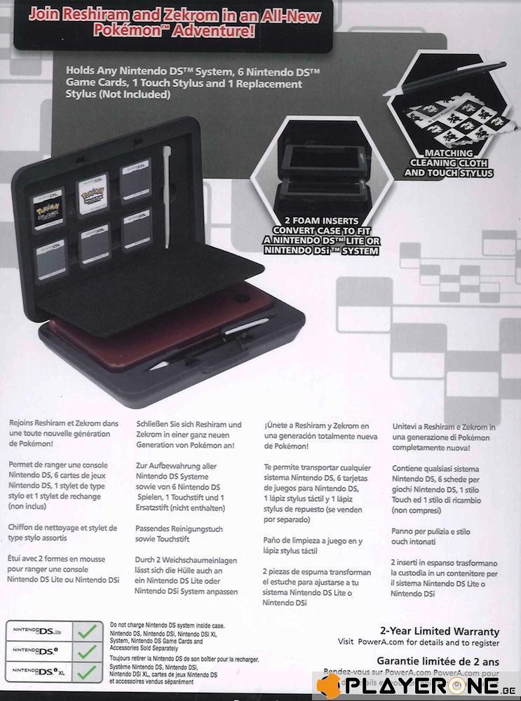Official Nintendo Pokemon Black and White Hard Case Kit_2