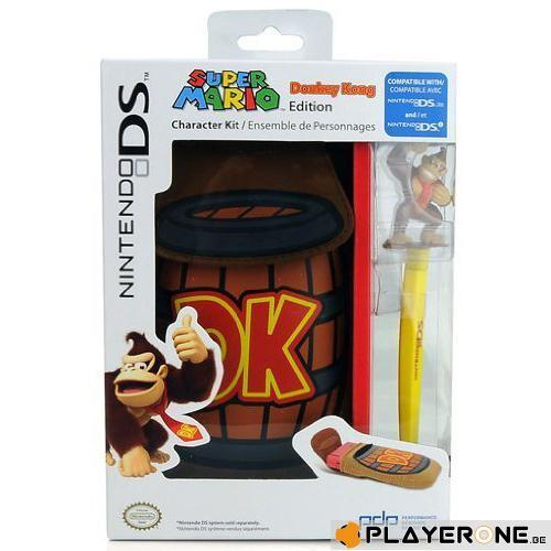 Donkey Kong Character Kit 3DS/DS : Housse + Stylet_1