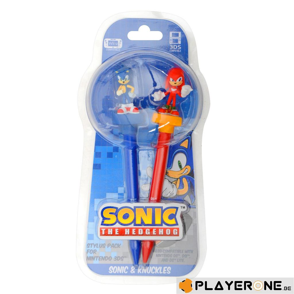 SONIC - Stylus Pack - Sonic and Knucklers_1