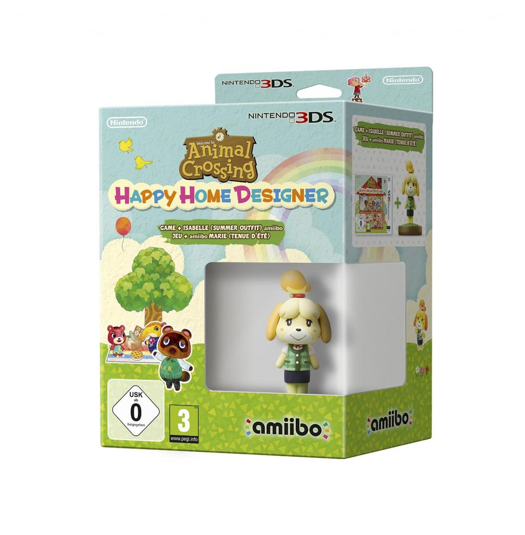 Animal Crossing Happy Home + Amiibo Isabelle_2