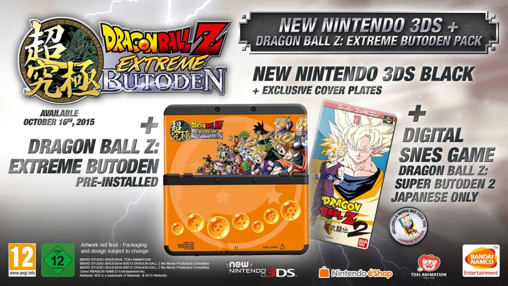 Console New 3DS BUNDLE Dragon Ball (LIMITED EDITION)_2