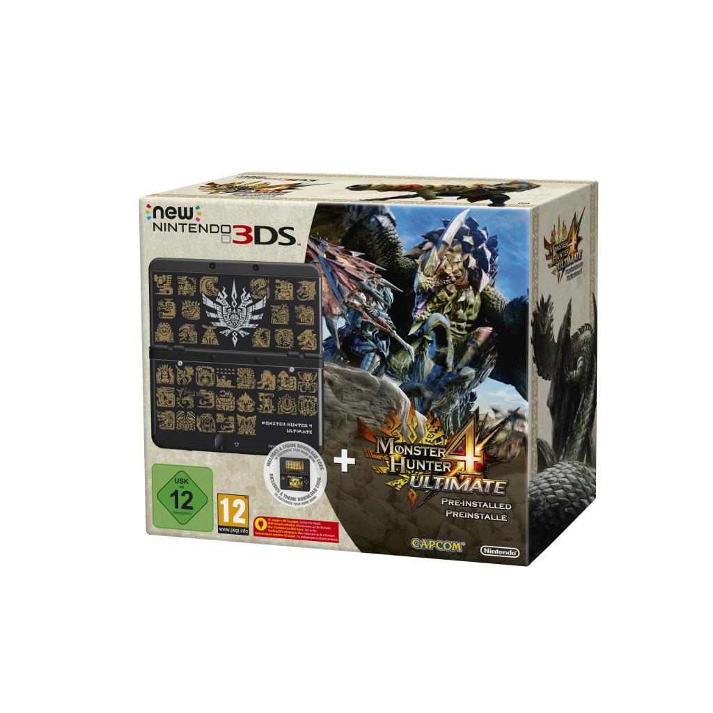 Console New 3DS BUNDLE Monster Hunter 4 Ultimate (LIMITED EDITION)_1