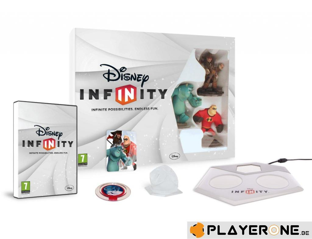 DISNEY INFINITY - Starter Pack 3DS