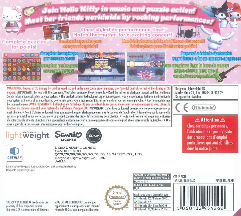 Hello Kitty and Friends Rocking World_2