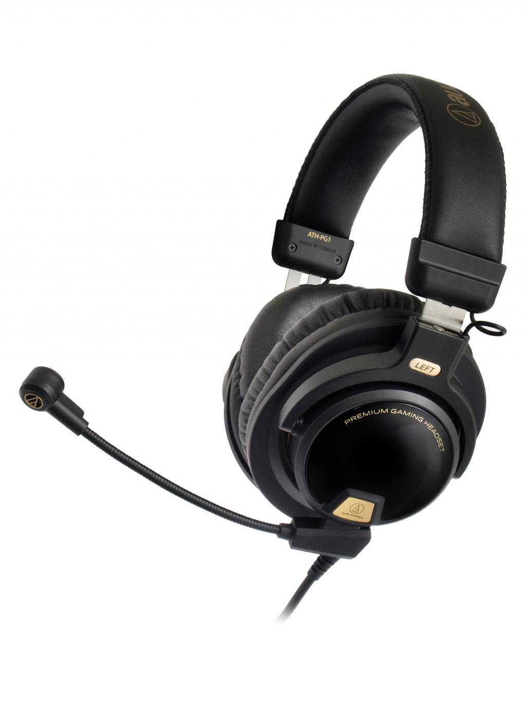 Audio-Technica - Gaming Headset ATH-PG1 (PS4/PC/Mobile/XBONE)_1