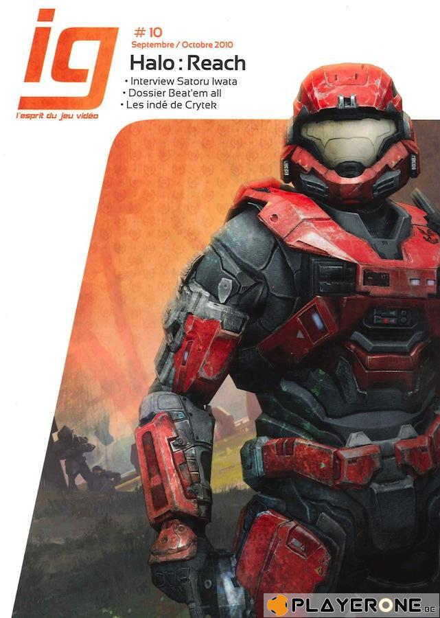 IG Magazine #10 - Halo Reach