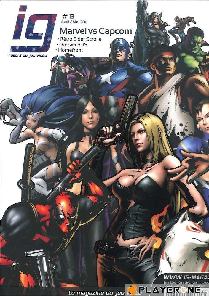IG Magazine #13 - Marvel Vs Capcom