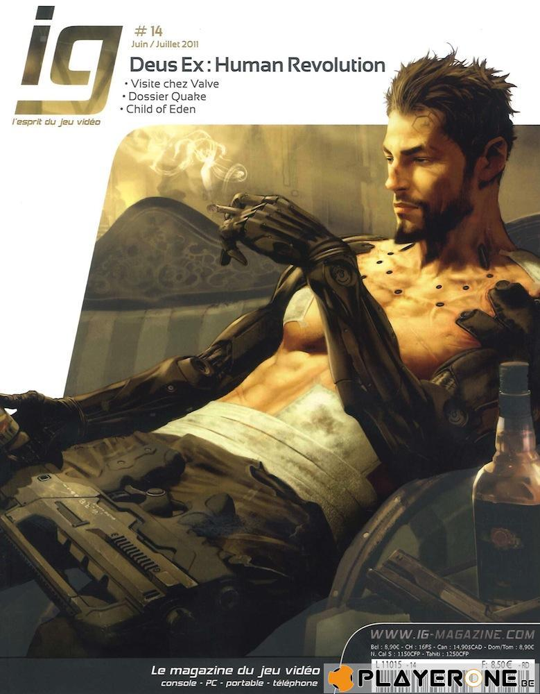 IG Magazine #14 - Deus Ex : Human Revolution