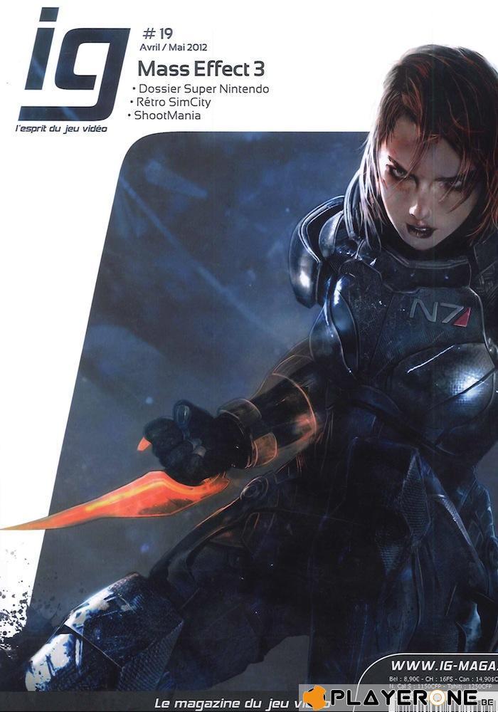 IG Magazine #19 - Mass Effect 3