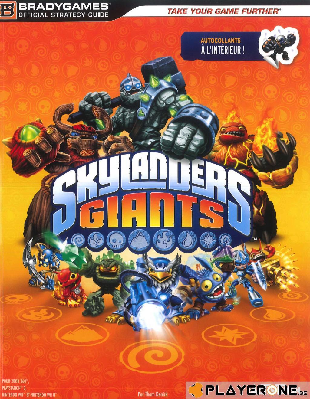 Guide de Soluce Skylanders Giants