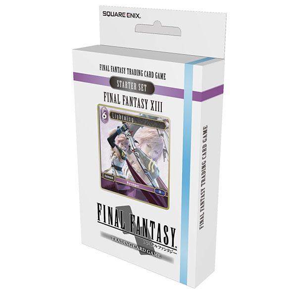 FINAL FANTASY JCC - Starter Set FFXIII - Boite de 6