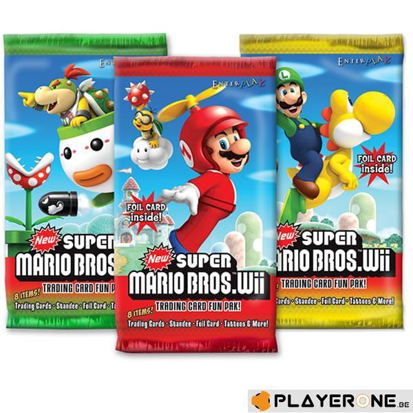 NINTENDO - Trading Card Super Mario Bros Wii