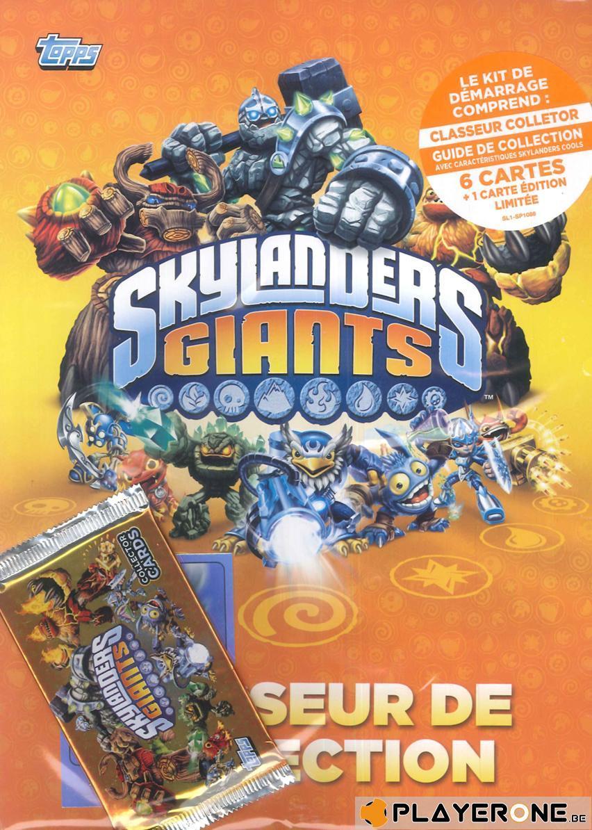 SKYLANDERS GIANTS - Jeux de Cartes - Kit de démarrage