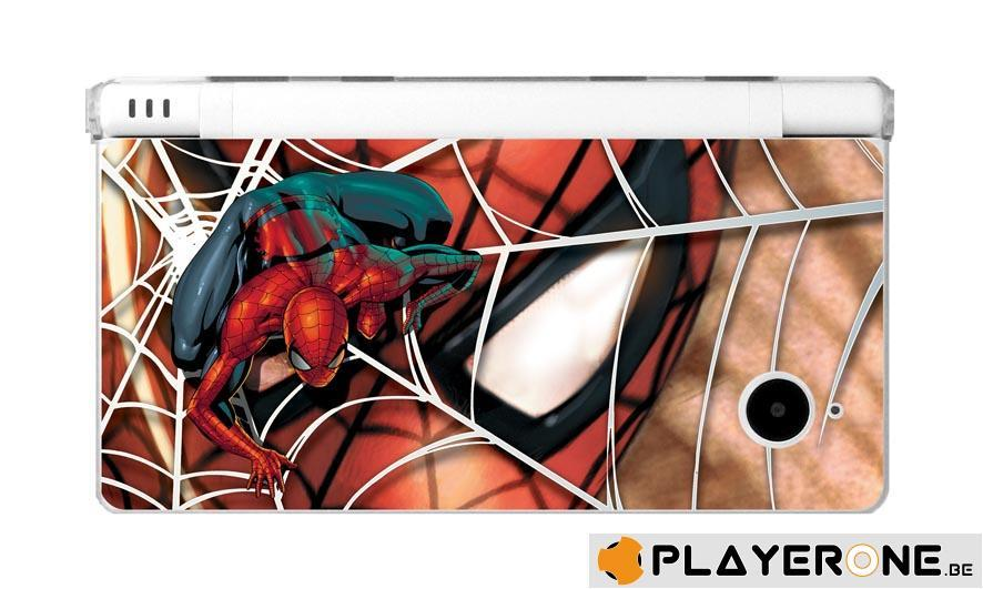 Polycarbonate Case + 4 Marvel Character Graphi Card DSI_4