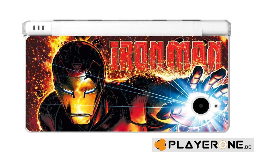 Polycarbonate Case + 4 Marvel Character Graphi Card DSI_5