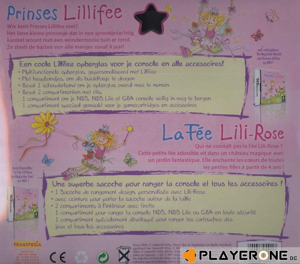 Sacoche de rangement : La Fée Lili-Rose ( DS / DSLite / GB Adv )_2