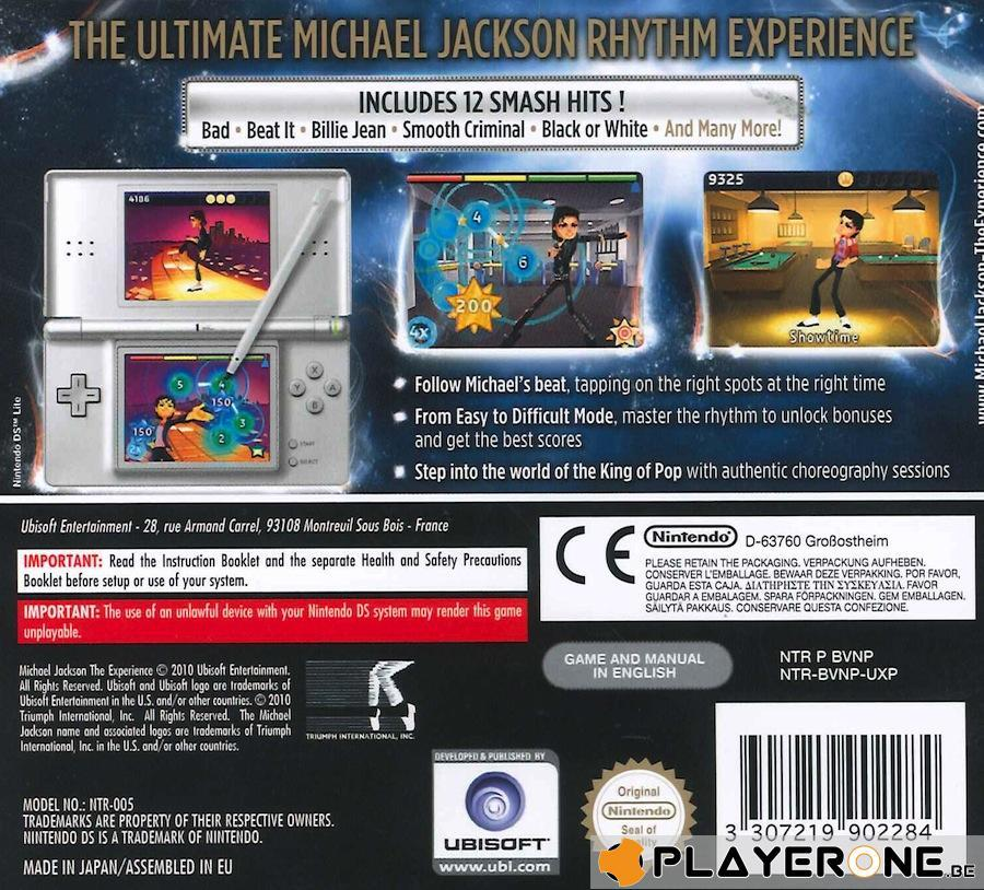 Michael Jackson : The Experience_2