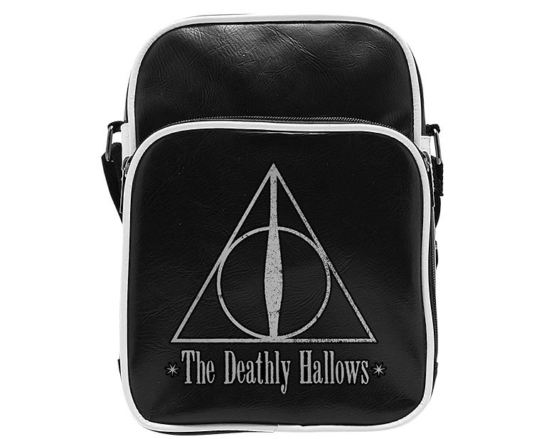 HARRY POTTER - Messenger Bag Vinyle Reliques - Small Size