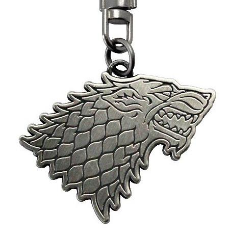 GAME OF THRONES - Porte-Cles Metal - STARK