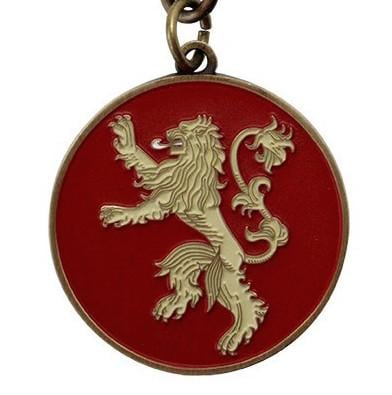 GAME OF THRONES - Porte-Cles Metal - LANNISTER