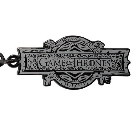 GAME OF THRONES - Porte-Cles Metal - OPENING LOGO