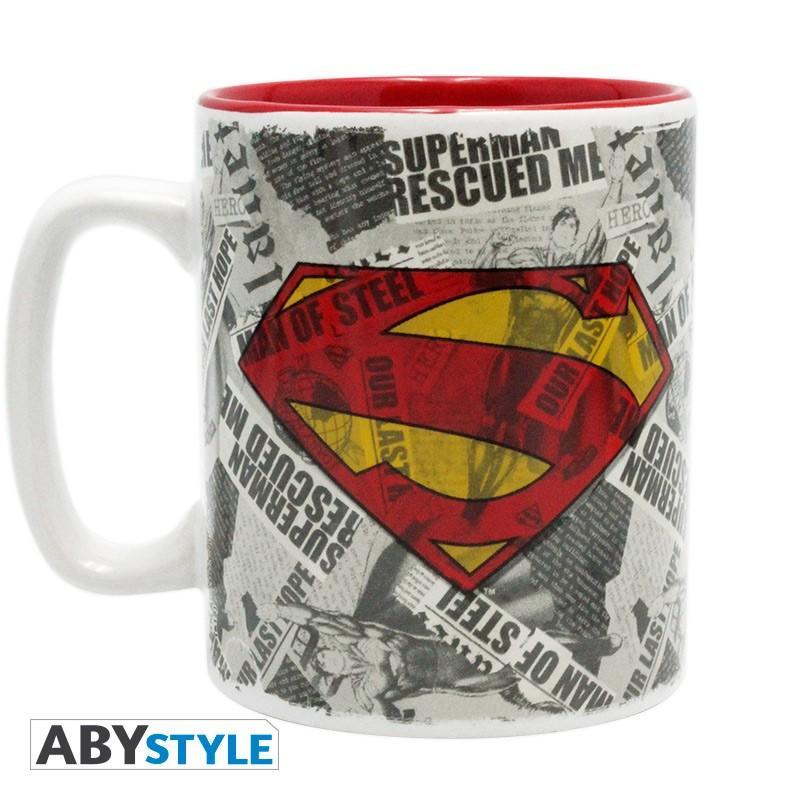 DC COMICS - Mug - 460 ml - Superman & Logo_1