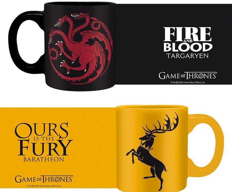GAME OF THRONES - Set 2 Mini-Mugs - Targaryen & Baratheon_2