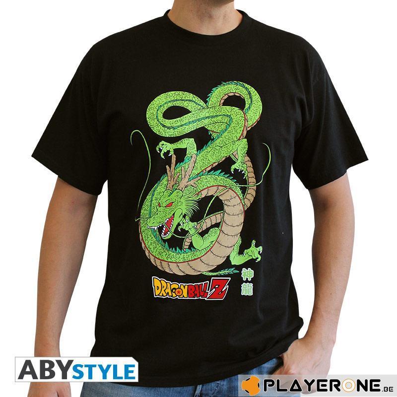 DRAGON BALL - T-Shirt DBZ Shenron Color Homme Noir (L)_1