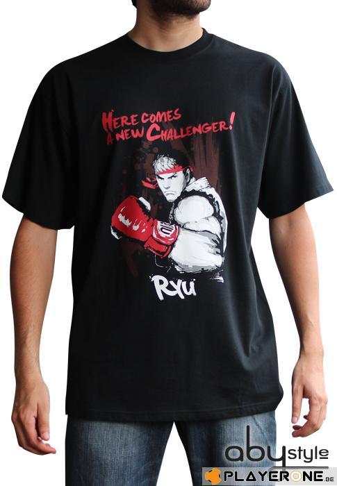 STREET FIGHTER - T-Shirt RYU Here Comes Homme (S)