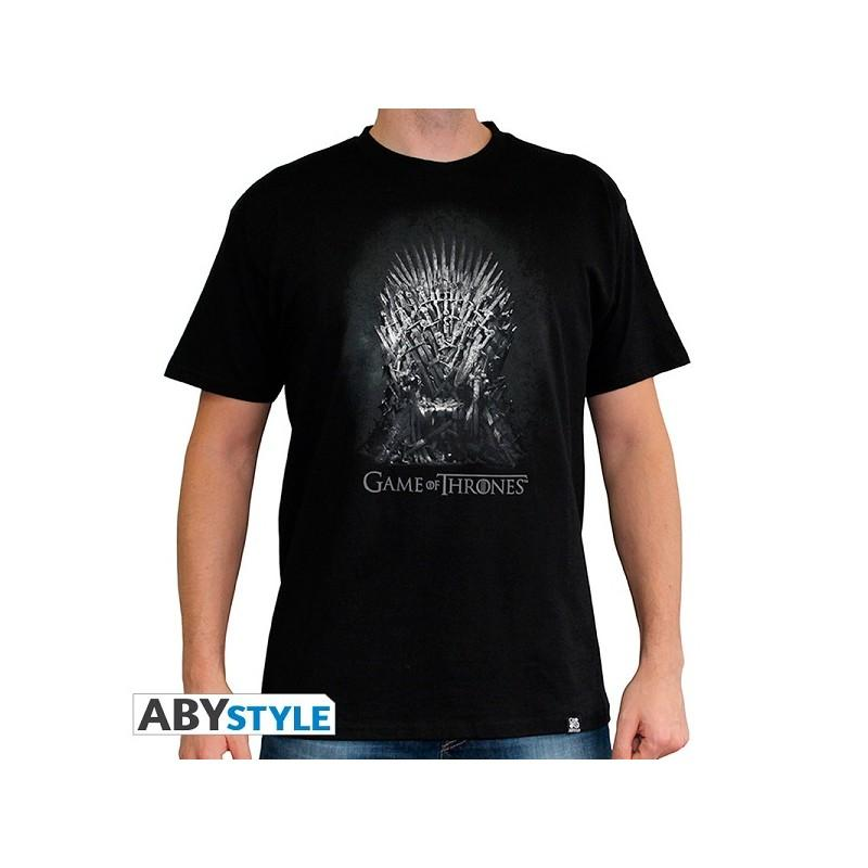 GAME OF THRONES - T-Shirt Trône De Fer Homme (L)