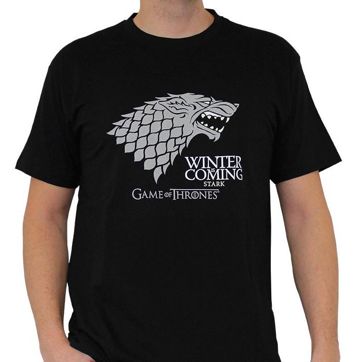 GAME OF THRONES - T-Shirt Winter Is Coming Homme (L)