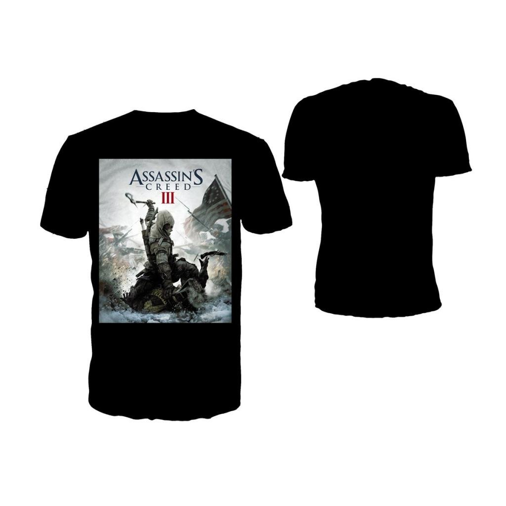 ASSASSIN'S CREED 3 - T-Shirt Black - Game Cover (L)_2