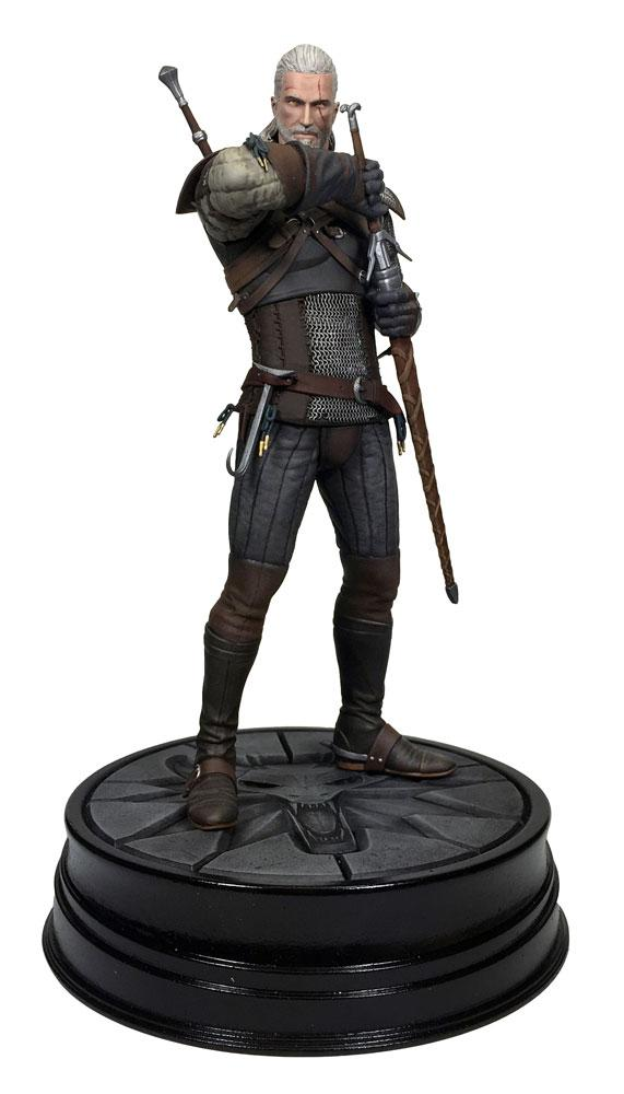 THE WITCHER 3 The Wild Hunt - Figurine Geralt de Riv - 20Cm