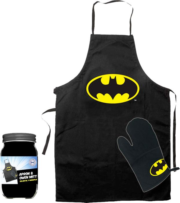 BATMAN - Tablier et Gant - Logo (GLASS POT)