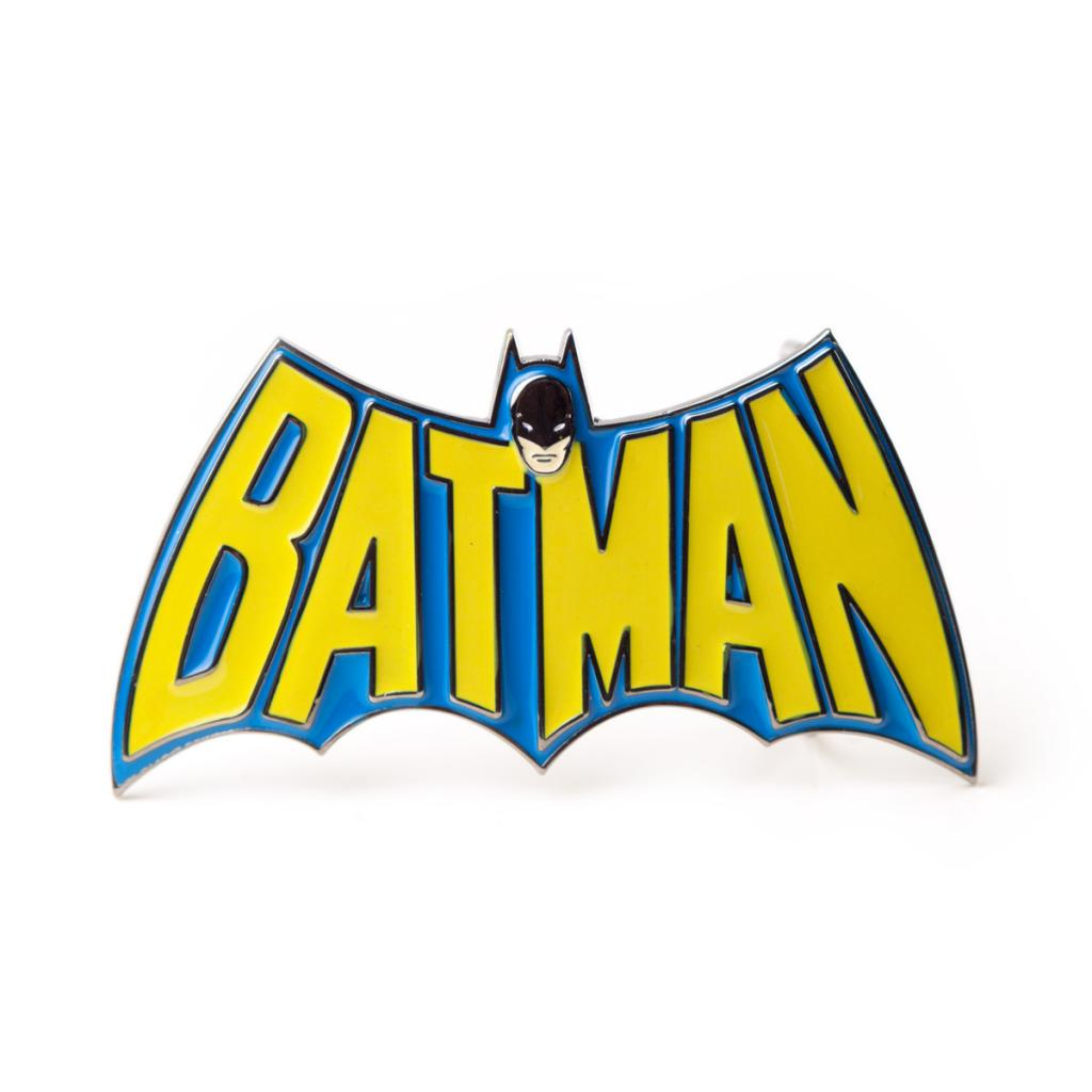 BATMAN - Retro Logo Belt Buckle