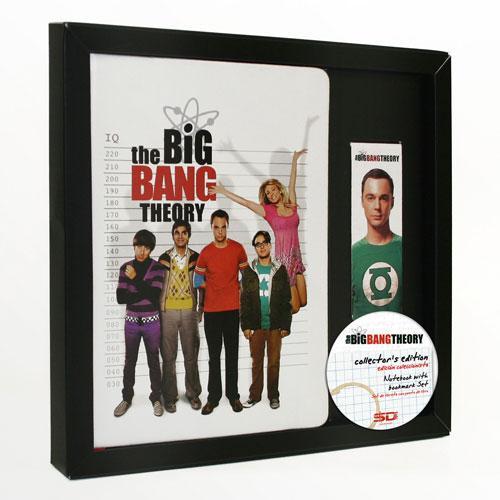 BIG BANG THEORY - GIFT SET Notebook + Magnetic Bookmark