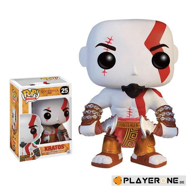 GOD OF WAR - Bobble Head POP N° 25 - Kratos