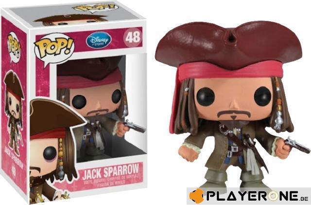 DISNEY - Bobble Head POP N° 048 - Jack Sparrow
