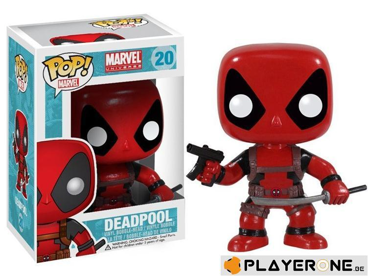 MARVEL - Bobble Head POP N° 20 - Deadpool