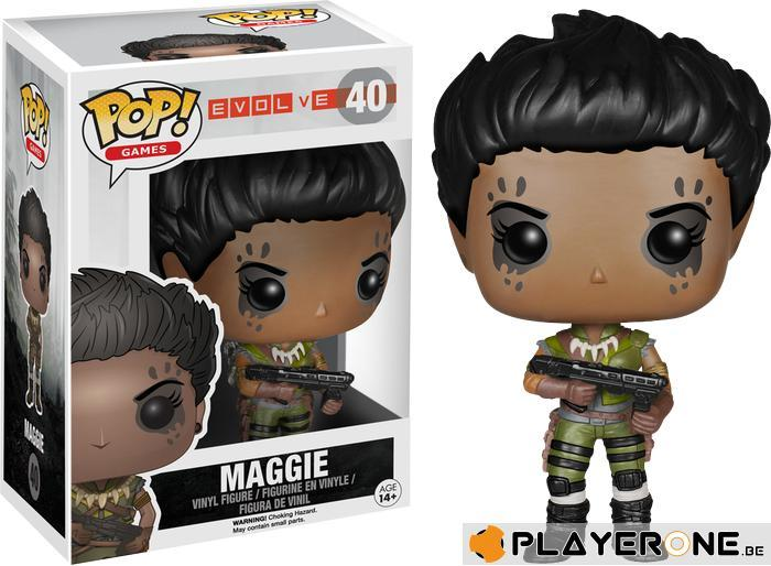 EVOLVE - Bobble Head POP N° 40 - Maggie