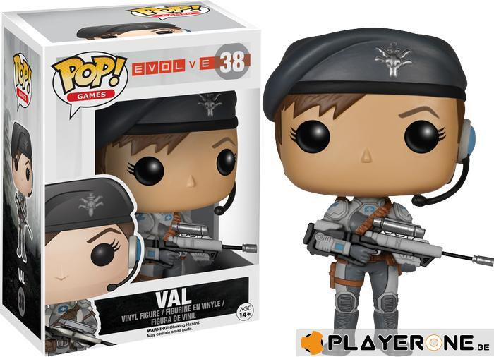 EVOLVE - Bobble Head POP N° 38 - Val