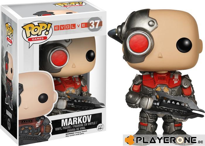 EVOLVE - Bobble Head POP N° 37 - Markov
