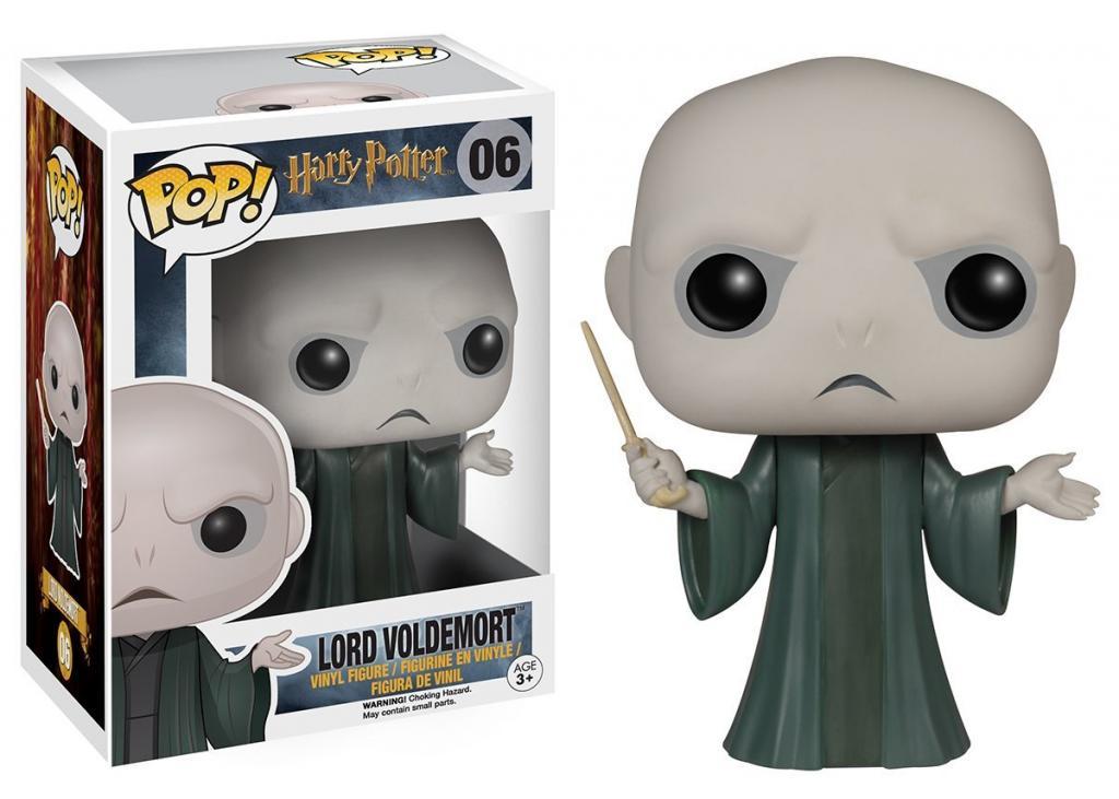 HARRY POTTER - Bobble Head POP N° 06 - Voldemort (*)