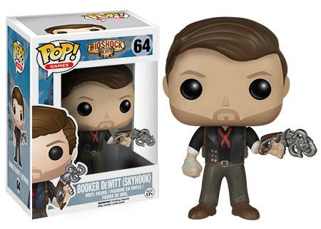 BIOSHOCK - Bobble Head POP N° 64 - Booket Dewitt with Skyhook
