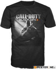 CALL OF DUTY Black Ops 2 - T-Shirt Black - Game Cover (XL)