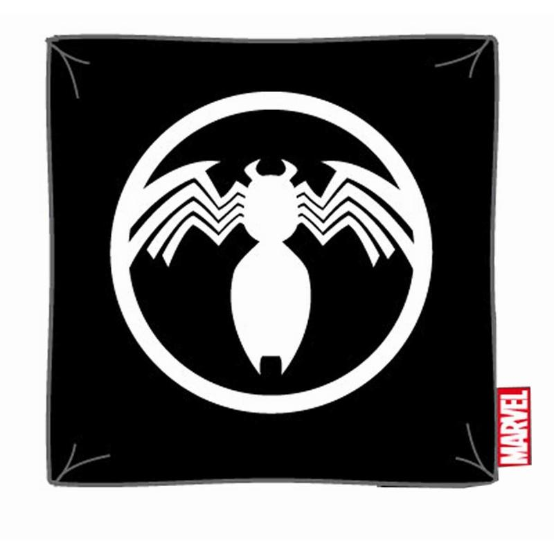 MARVEL  - Coussin Venom Logo Officiel ( 40 x 40 )