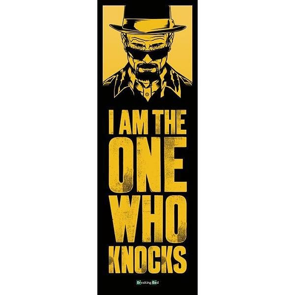 BREAKING BAD - Poster Porte 53X158 - I AM The One Who Knocks