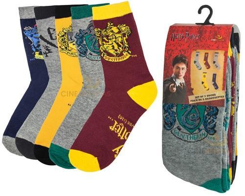 HARRY POTTER - Lot de 5 paires de Chaussettes - Taille 37 - 46