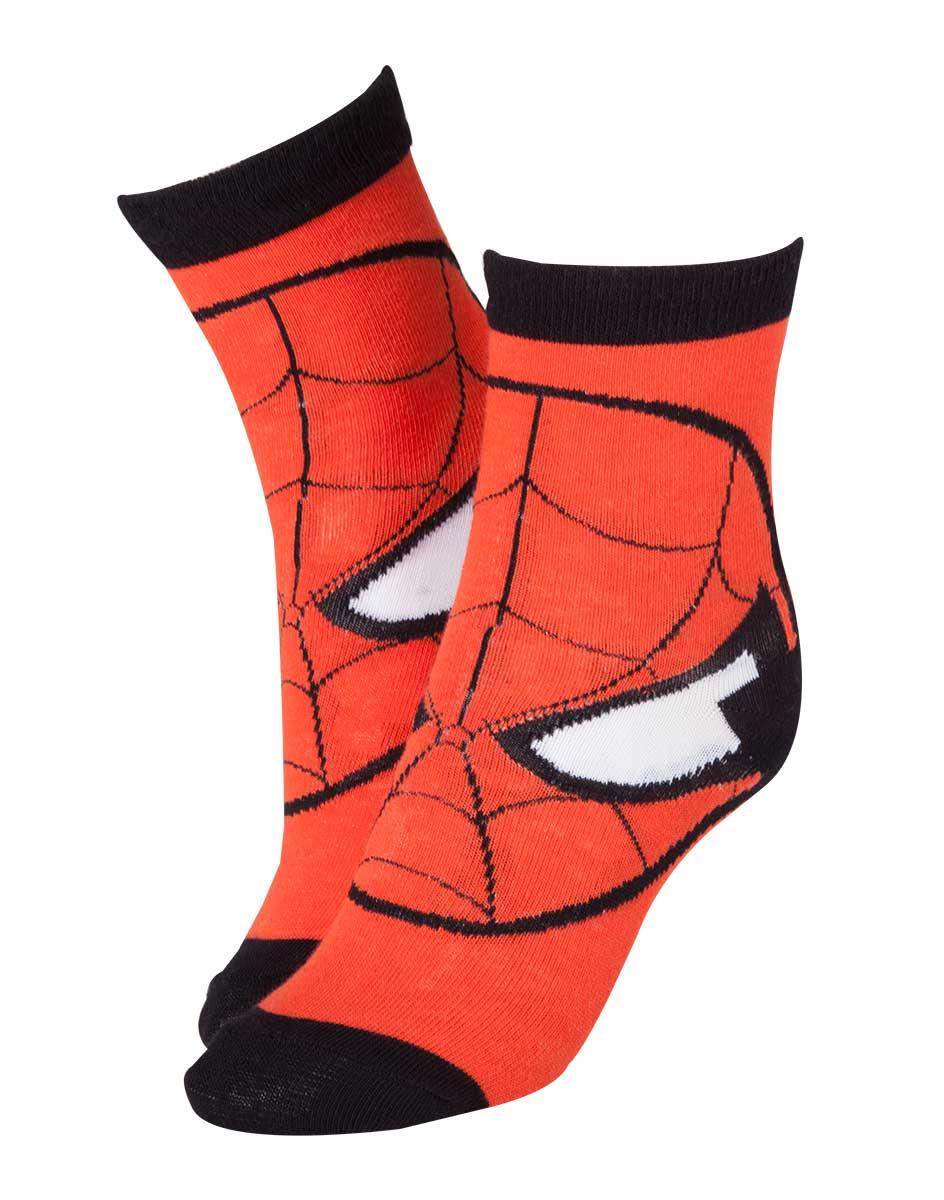 MARVEL - Chaussettes - Spider-Man Mask 39/42